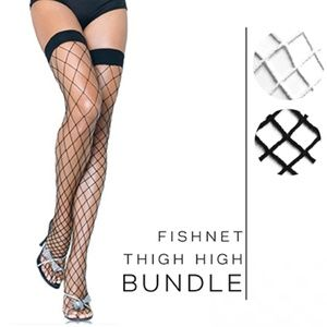 Accessories - NWT Bundle-of-2   Fishnet Stockings